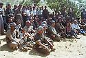 Iraq 1996.Salaheddin: peshmergas celebrating the 50th anniversary of KDP party.Irak 1996 .Peshmergas celebrant le 50 eme anniversaire du PDK a Salahedin