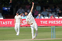 Zafar Gohar in bowling action for Gloucestershire during Essex CCC vs Gloucestershire CCC, LV Insurance County Championship Division 2 Cricket at The Cloudfm County Ground on 5th September 2021