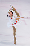 Pantaree Sucharit of Thailand competes in Advanced Novice Girls group during the Asian Open Figure Skating Trophy 2017 on August 03, 2017 in Hong Kong, China. Photo by Marcio Rodrigo Machado / Power Sport Images