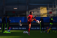 Gothenburg, Sweden - Thursday June 08, 2017: Sydney Leroux prior to an international friendly match between the women's national teams of Sweden (SWE) and the United States (USA) at Gamla Ullevi Stadium.