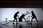 HONRION<br /> <br /> Distribution<br /> Conception et chorégraphie : Malika Djardi<br /> Interprétation : Nestor Garcia Diaz et Malika Djardi<br /> Assistants à la composition musicale : Nicolas Taite et Thomas Turine<br /> Technique son : Benoît Pelé<br /> Régie son : Clément Vercelletto<br /> Création lumière : Yves Godin<br /> La Bourette : assistant à la création et confections des protections et ceintures / Ateliers de couture du Théâtre de Liège : bodies, tutu et gants / Marie- Colin Madan : masques et finitions / Nodd Architecture : sabots<br /> Scénographie : LFA Looking For<br /> Conseils à la dramaturgie : Youness Anzane<br /> Compagnie :<br /> Cadre : Festival Etrange Cargo <br /> Date : 01/04/2017<br /> Lieu : La Ménagerie de Verre<br /> Ville : Paris<br /> © Laurent Paillier / photosdedanse.com