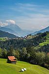 Austria, Tyrol, Pitztal Valley, Arzl in Pitztal Valley: district Wald | Oesterreich, Tirol, Pitztal, Arzl im Pitztal: Ortsteil Wald