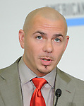 Pitbull at The 2011 American Music Awards Nomination Announcements  held at JW Marriott Los Angeles at L.A. LIVE Gold Ballroom Salon 3 in Los Angeles, California on October 11,2011                                                                               © 2011 DVS / Hollywood Press Agency