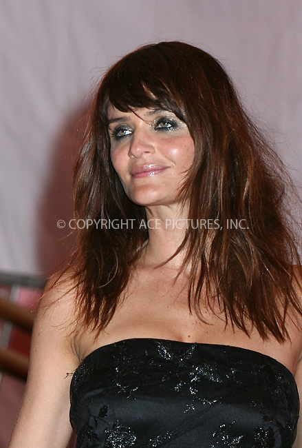 WWW.ACEPIXS.COM . . . . .....May 5, 2008. New York City.....Helena Christensen leaving the 'Superheroes: Fashion and Fantasy' Costume Institute Gala at The Metropolitan Museum of Art...  ....Please byline: NANCY RIVERA - ACEPIXS.COM.. *** ***..Ace Pictures, Inc:  ..Philip Vaughan (646) 769 0430..e-mail: info@acepixs.com..web: http://www.acepixs.com