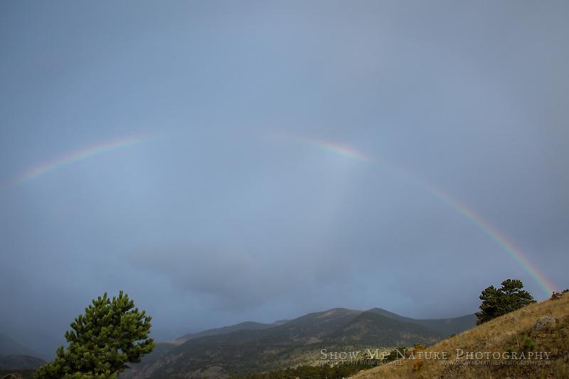 Rainbow over Moraine Park