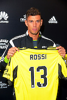 160809 A-League Football - Wellington Phoenix Sign Italian Marco Rossi