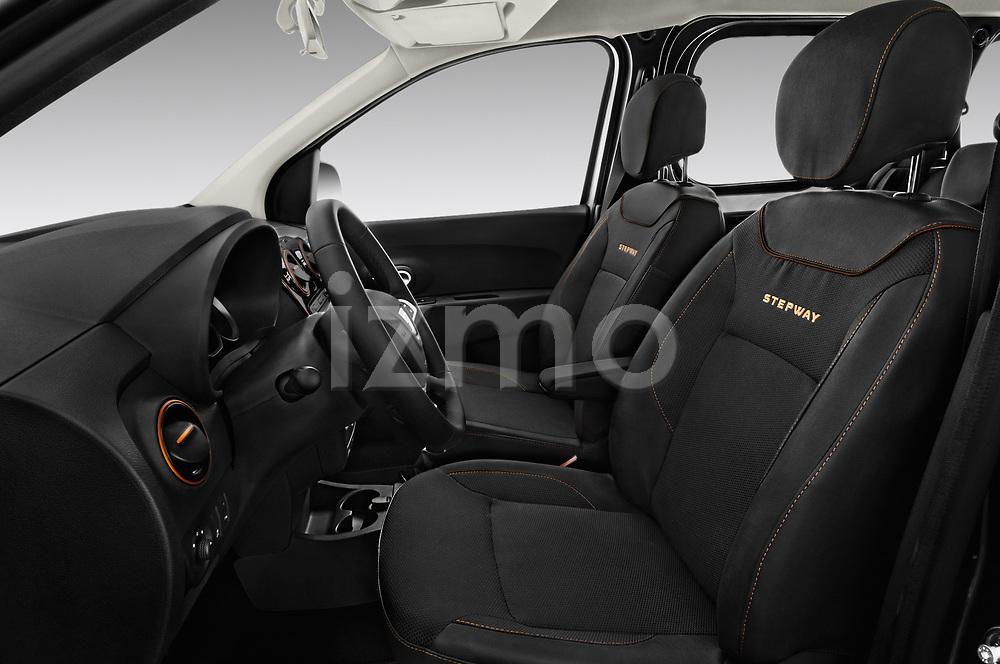 Front seat view of a 2017 Dacia Dokker Stepway SL Explorer 5 Door Mini Van front seat car photos
