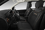 Front seat view of a 2017 Dacia Dokker Stepway SL Explorer 5 Door Mini Van front seat car photos
