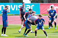 Spain's Gerard Pique, Nacho Monreal, Alvaro Odriozola and Cesar Azpilicueta during training session. June 5,2018.(ALTERPHOTOS/Acero) /NortePhoto.com NORTEPHOTOMEXICO