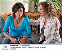 Pascale Montpetit et Macha Limonchik<br />  dans Pure Laine<br /> <br /> Editorial Only - for media use only<br /> Pour usage media (editorial)  Uniquement<br /> <br /> (c) Tele Quebec