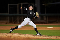 AZL White Sox relief pitcher Justin Friedman (33) during an Arizona League game against the AZL Dodgers Lasorda at Camelback Ranch on June 18, 2019 in Glendale, Arizona. AZL Dodgers Lasorda defeated AZL White Sox 7-3. (Zachary Lucy/Four Seam Images)