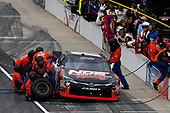 NASCAR XFINITY Series<br /> Lilly Diabetes 250<br /> Indianapolis Motor Speedway, Indianapolis, IN USA<br /> Saturday 22 July 2017<br /> Kyle Busch, NOS Energy Drink Rowdy Toyota Camry pit stop<br /> World Copyright: Michael L. Levitt<br /> LAT Images