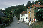 The Village Pub. Birch Hall Inn. Beck Hole, Yorkshire, England. 1990s 1991