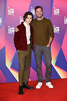 """Timothee Chalamet and Armie Hammer<br /> at the London Film Festival 2017 photocall for the film """"Call Me by Your Name"""" at the Mayfair Hotel, London<br /> <br /> <br /> ©Ash Knotek  D3326  09/10/2017"""