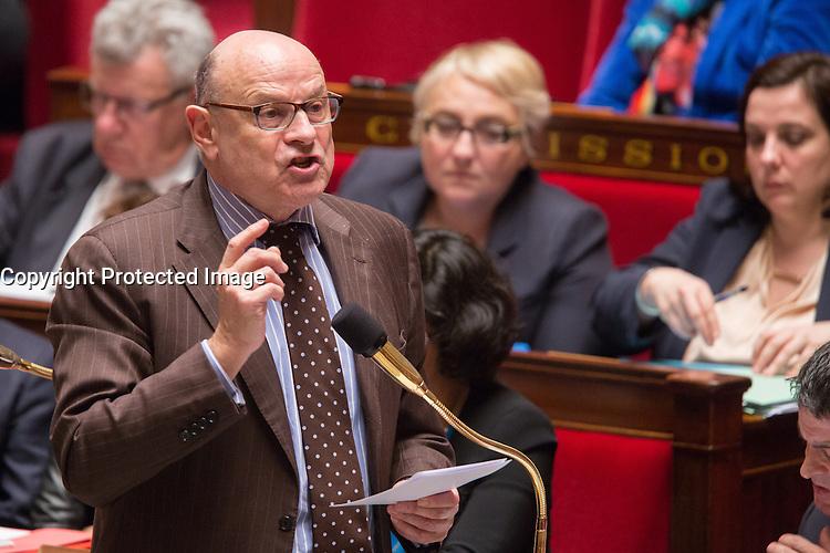 JEAN-MARIE LE GUEN - ASSEMBLEE NATIONALE - SEANCE DE QUESTIONS AU GOUVERNEMENT