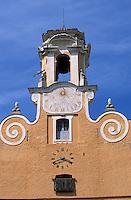 Europe/France/Corse/2B/Haute-Corse/Cap Corse/Bastia: La citadelle - Détail de la façade du palais des Nobles