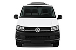 Car photography straight front view of a 2018 Volkswagen Transporter Base 4 Door Pick Up