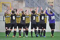 Lierse SK - ADO Den Haag : Lierse dames peppen elkaar op voor de wedstrijd.foto DAVID CATRY / Nikonpro.be