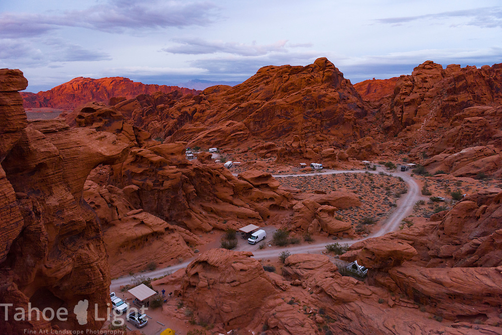 Valley Of Fire State Park Tahoe Landscape Photography