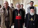 Iraq 2014              <br /> In the monastery of Mar Matta with Bishop Moses Aziz Al Shamany, Hamid Effendi and his peshmergas <br /> Irak 2014 <br /> Au monastere syriac orthodox de Saint Matthieu, l'eveque Mgr.Moses Aziz Al Shamany et Hamid Effendi avec ses peshmergas