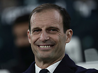 Calcio, Serie A: Juventus - Chievo Verona, Turin, Allianz Stadium, January 21, 2019.<br /> Juventus' coach Massimiliano Allegri looks on prior to the Italian Serie A football match between Juventus and Chievo Verona at Torino's Allianz stadium, January 21, 2019.<br /> UPDATE IMAGES PRESS/Isabella Bonotto