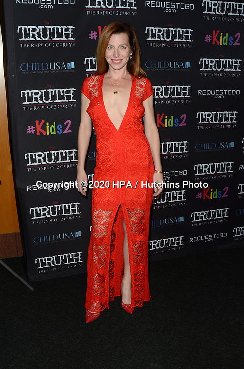 "LOS ANGELES - MAR 9:  Tanna Frederick at the ""(My) Truth: The Rape of 2 Coreys"" L.A. Premiere at the DGA Theater on March 9, 2020 in Los Angeles, CA"