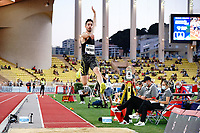 9th July 2021, Monaco, France; Diamond League Athletics, Herculis meeting, Monaco;  Miltiadis Tentoglou (Gre)