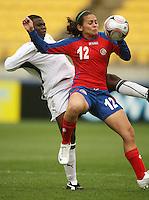 081104 FIFA Women's Under-17 World Cup Football - Ghana v Costa Rica