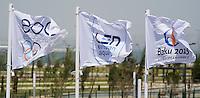 Eoc Len Baku2015 Flags<br /> 1st European Olympic Games <br /> Baku Azerbaijan 12-28/08/2015<br /> Photo Andrea Masini/Deepbluemedia/Insidefoto