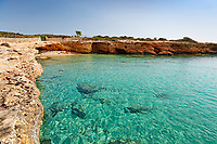 Diana beach of Koufonissi island in Cyclades, Greece