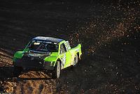 Dec. 10, 2011; Chandler, AZ, USA;  LOORRS pro 2 unlimited driver Nick Tyree during round 15 at Firebird International Raceway. Mandatory Credit: Mark J. Rebilas-