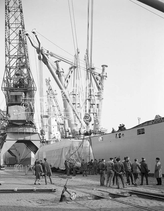 Maart 1965. Haven van Antwerpen.