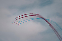 La Patrouille de France salutes the Tour<br /> <br /> 104th Tour de France 2017<br /> Stage 19 - Embrun › Salon-de-Provence (220km)