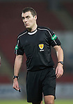 St Johnstone v Stenhousemuir…21.01.17  McDiarmid Park  Scottish Cup<br />Referee Euan Anderson<br />Picture by Graeme Hart.<br />Copyright Perthshire Picture Agency<br />Tel: 01738 623350  Mobile: 07990 594431