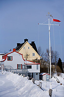 Amérique/Amérique du Nord/Canada/Québec/  Deschambault: Maisons sur les bords du Saint-Laurent- Chemin du Roy