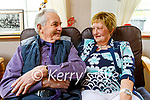 Rita and Jimmy O'Donoghue celebrating their 50th wedding anniversary at home in Scartaglin on Tuesday.