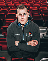Monday 6th January 2020 | Ulster Rugby Match Briefing<br /> <br /> Will Addison during the Ulster Rugby Match Briefing held at Kingspan Stadium, Ravenhill Park, Belfast, Northern Ireland and of their Heineken Champions Cup Pool 3, Round 5, clash with Clermont in France this weekend. Photo by John Dickson / DICKSONDIGITAL<br /> <br /> NB: This image has been filtered.