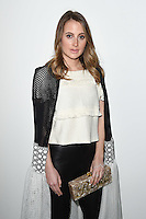 Rosie Fortescue<br /> at the Bora Aksu AW17 show as part of London Fashion Week AW17 at 180 Strand, London.<br /> <br /> <br /> ©Ash Knotek  D3230  17/02/2017