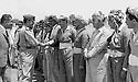 Iraq 1970.Erbil:Kerim Khan Bradosti shaking hands with Saadoun Ghaidan, minister of Interior<br /> <br /> Irak 1970. Erbil: Kerim Khan Bradosti serrant la main de Saadoun Ghaidan, ministre de l'interieur