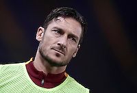 Calcio, Serie A: Roma vs Cagliari, Roma, stadio Olimpico, 22 gennaio 2017.<br /> Roma's Francesco Totti warms up during the Italian Serie A football match between Roma and Cagliari at Rome's Olympic stadium, 22 January 2017. <br /> UPDATE IMAGES PRESS/Isabella Bonotto