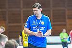 Coburgs Trainer Mraz,  Alois beim Spiel in der Handball Bundesliga, Die Eulen Ludwigshafen - HSC 2000 Coburg.<br /> <br /> Foto © PIX-Sportfotos *** Foto ist honorarpflichtig! *** Auf Anfrage in hoeherer Qualitaet/Aufloesung. Belegexemplar erbeten. Veroeffentlichung ausschliesslich fuer journalistisch-publizistische Zwecke. For editorial use only.