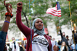 Wall Street - Occupy Wall Street protest in New York - Hightlights Sept 19