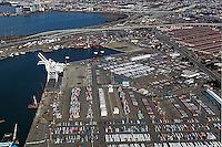 aerial photograph Port of Oakland, California