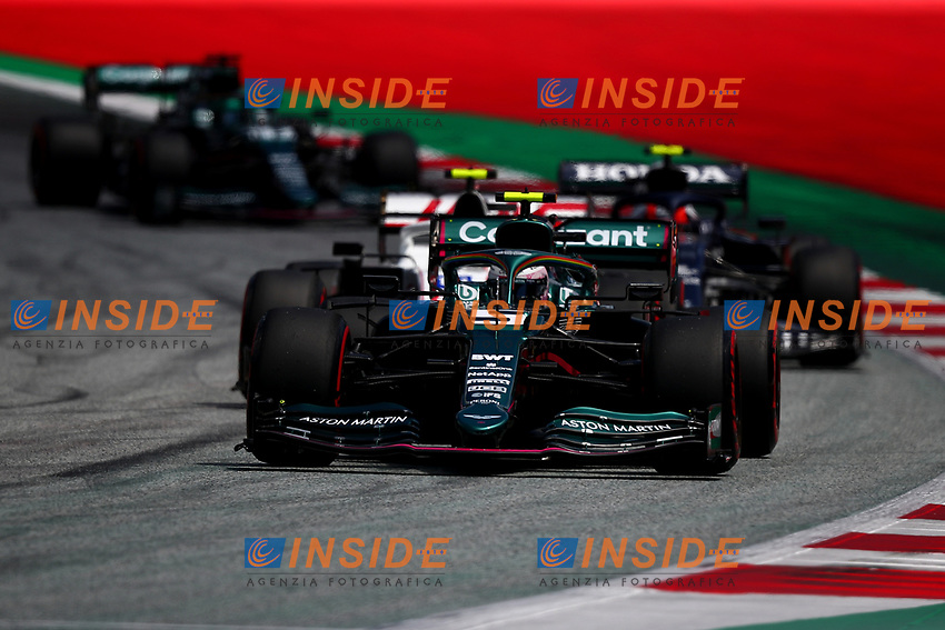 #05 Sebastian Vettel, Aston Martin. Formula 1 World championship 2021, Styrian GP 2021, 26 June 2021<br /> Photo Federico Basile / Insidefoto