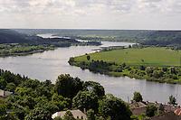 Nemunas (Memel) in Vilkija, Litauen, Europa