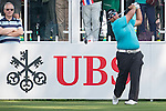 Kiradech Aphibarnrat of Thailand tees off the first hole during the 58th UBS Hong Kong Golf Open as part of the European Tour on 08 December 2016, at the Hong Kong Golf Club, Fanling, Hong Kong, China. Photo by Marcio Rodrigo Machado / Power Sport Images
