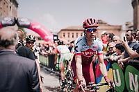 Tony Martin (GER/Katusha-Alpecin) to the start<br /> <br /> stage 13 Ferrara - Nervesa della Battaglia (180km)<br /> 101th Giro d'Italia 2018