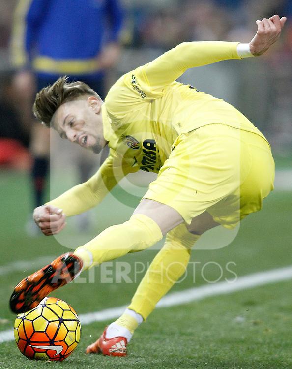 Villareal's Samu Castillejo during La Liga match. February 21,2016. (ALTERPHOTOS/Acero)