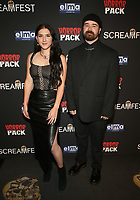 HOLLYWOOD, CA - OCTOBER 12: Brittany Cornett, Jacob Cornett, at the 21st Screamfest Opening Night Screening Of The Retaliators at Mann Chinese 6 Theatre in Hollywood, California on October 12, 2021. Credit: Faye Sadou/MediaPunch