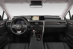 Stock photo of straight dashboard view of 2019 Lexus RX Privilege-Line 5 Door SUV Dashboard